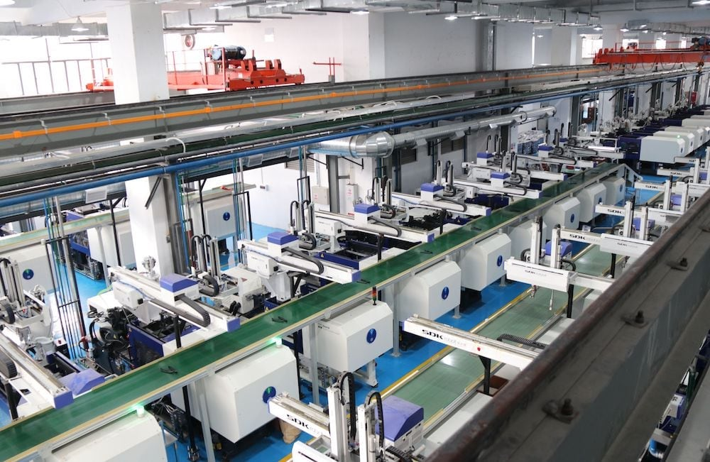Production facility Tucan Tectronic